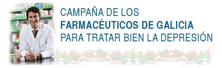 Campaña de los Farmacéuticos de Galicia para tratar bien la depresión