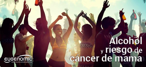 Alcohol y riesgo de cáncer de mama
