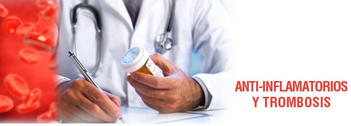 Anti-inflamatorios y trombosis