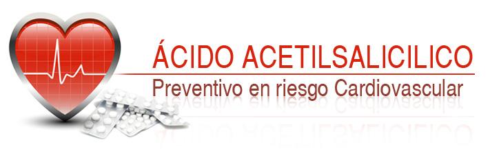 ASPIRINA® PREVENTIVA DE RIESGO CARDIOVASCULAR