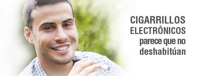 Cigarrillos electrónicos, parece que no deshabitúan