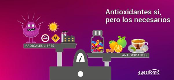 Equilibrio antioxidantes vs radicales libres