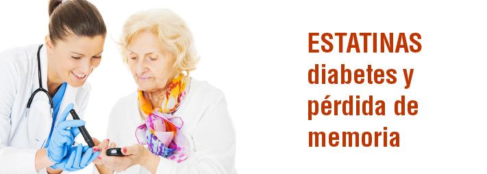 Estatinas, diabetes y pérdida de memoria
