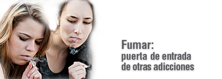 Fumar: puerta de entrada de otras adicciones