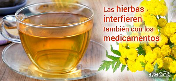 Las hierbas medicinales también interfieren con los medicamentos