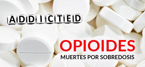 Muertos por sobredosis de opioides