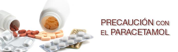 Precaución con el paracetamol