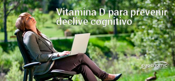 Niveles adecuados de Vitamina D para prevenir declive cognitivo