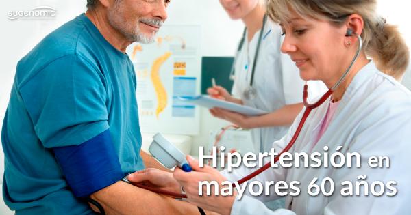 Hipertensión en mayores de 60 años