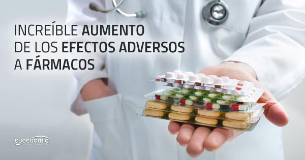 El increíble aumento de los efectos adversos a fármacos