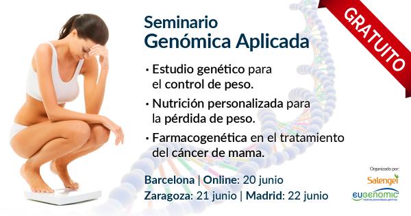 Seminario de Genómica aplicada al control de peso y al tratamiento del cáncer de mama.