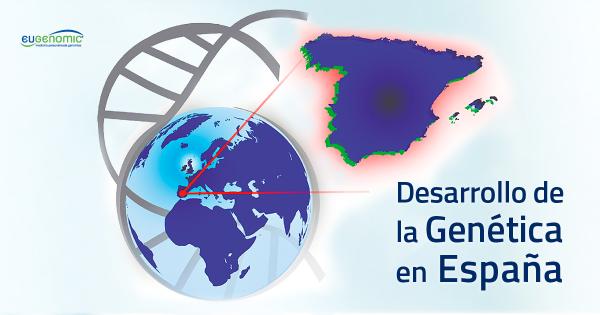 Desarrollo de la genética en España