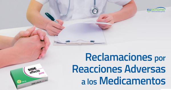 Más reclamaciones por reacciones adversas a los medicamentos