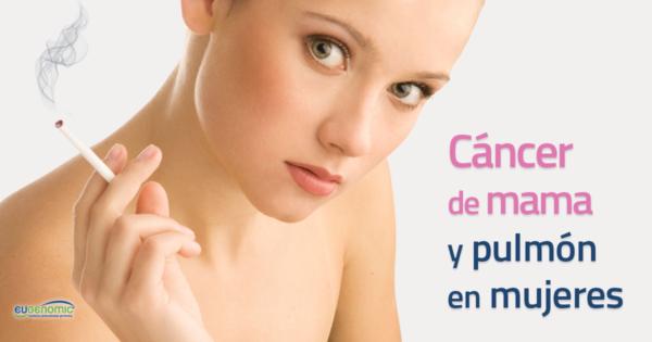 Incidencia cáncer de mama y pulmón en mujeres