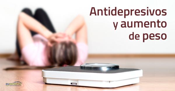 Antidepresivos. Aumento peso